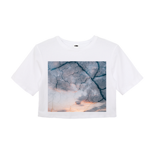 Sky Ground Women's Crop Top