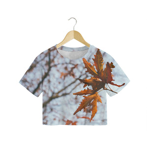 Autumn Leaves - Women's Crop Tee