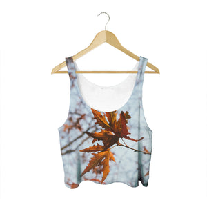 Autumn Leaves - Women's Crop Top