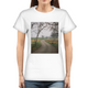 Foggy Trees Women's Graphic T-Shirt