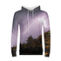 Purple Light Men's Hoodie