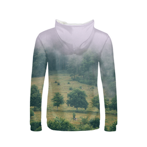 The Hiding Cow - Womens Hoodie