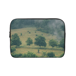 The Hiding Cow Laptop Sleeve