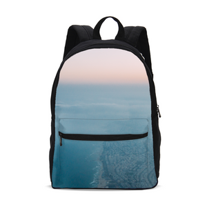 Top View Small Canvas Backpack