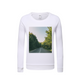 Forested Road Kids Graphic Sweatshirt