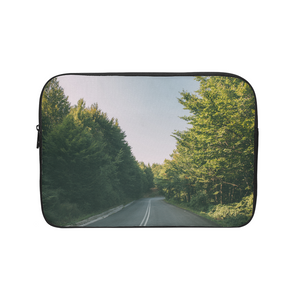 Forested Road Laptop Sleeve