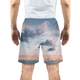 Cloudy Sunset Men's Swim Trunk
