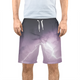 Purple Light Men's Swim Trunk