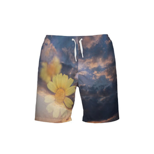Flower Power Men's Swim Trunk