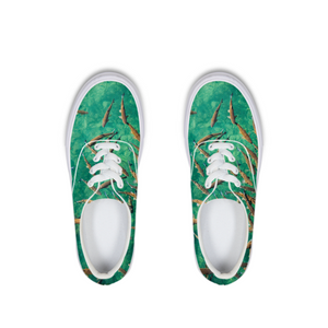 Deep Water Lace Up Canvas Shoe