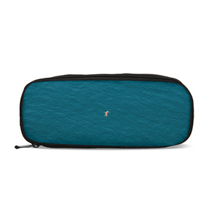 A Man In A Blue Sea Pencil Case