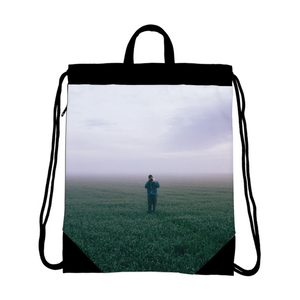 The Lonely Photographer Canvas Drawstring Bag