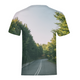 Forested Road Kids T-Shirt