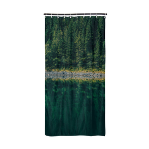 "Crazy reflection Shower Curtain 72""x36"""