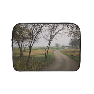 Foggy Trees Laptop Sleeve