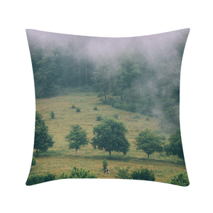 "The Hiding Cow Throw Pillow Case 16""x16"""
