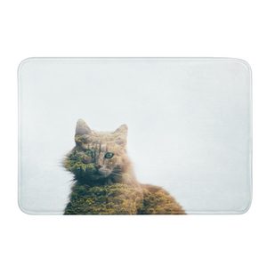 Cat&Forest Bath Mat