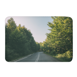Forested Road Bath Mat