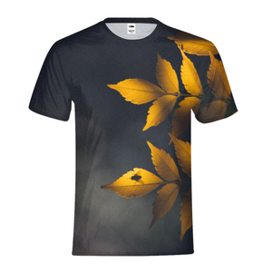 Yellow Leaves Kids T-Shirt