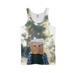 The Hiding Face - Mens Tank