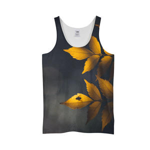 Yellow Leaves Men's Tank
