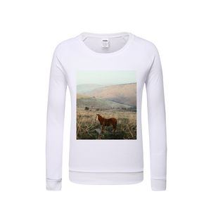 Wild Horse Kids Graphic Sweatshirt