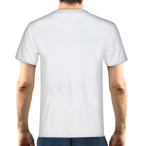 Foggy Forest Road Men's Graphic T-Shirt