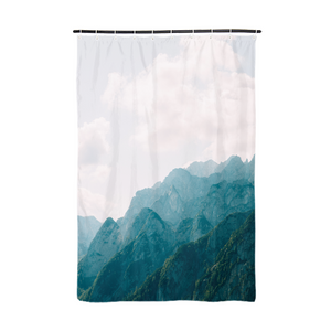 "Mountain Tops Shower Curtain 72""x48"""