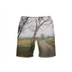 Foggy Trees Men's Swim Trunk