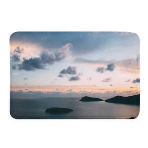 Cloudy Sunset Bath Mat