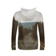 The Road Between The Forests - Womens Hoodie