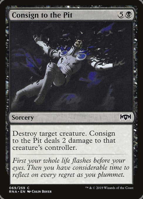 Consign to the Pit [Ravnica Allegiance] | Galactic Gamez