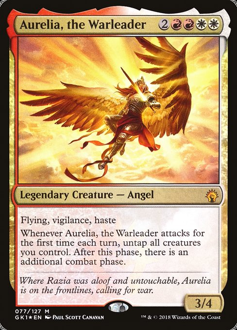 Aurelia, the Warleader [GRN Guild Kit] | Galactic Gamez