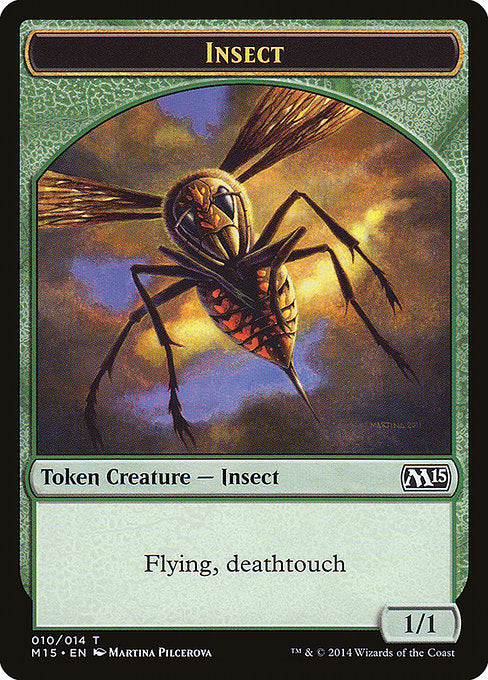 Insect [Magic 2015 Tokens] | Galactic Gamez