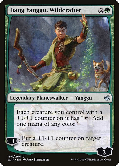 Jiang Yanggu, Wildcrafter [War of the Spark] | Galactic Gamez