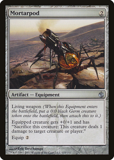 Mortarpod [Mirrodin Besieged] | Galactic Gamez