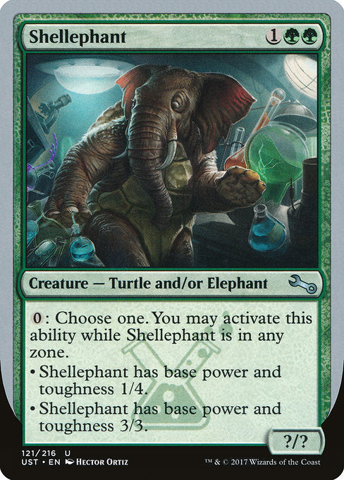 Shellephant [Unstable] | Galactic Gamez