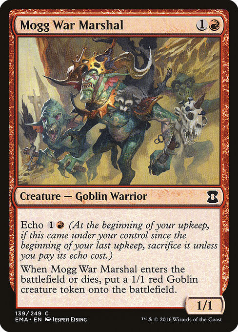 Mogg War Marshal [Eternal Masters] | Galactic Gamez