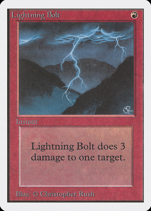 Lightning Bolt [Unlimited Edition] | Galactic Gamez