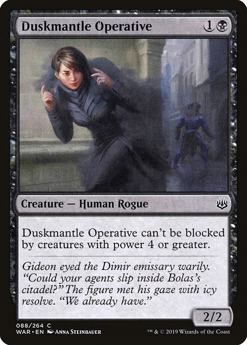 Duskmantle Operative [War of the Spark] | Galactic Gamez