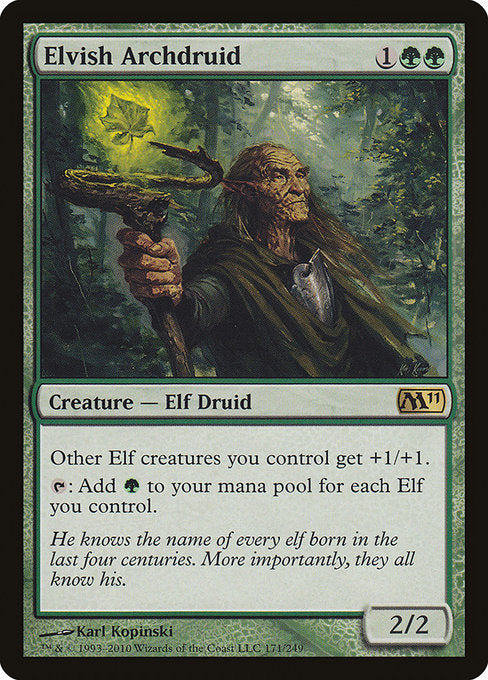 Elvish Archdruid [Magic 2011] | Galactic Gamez