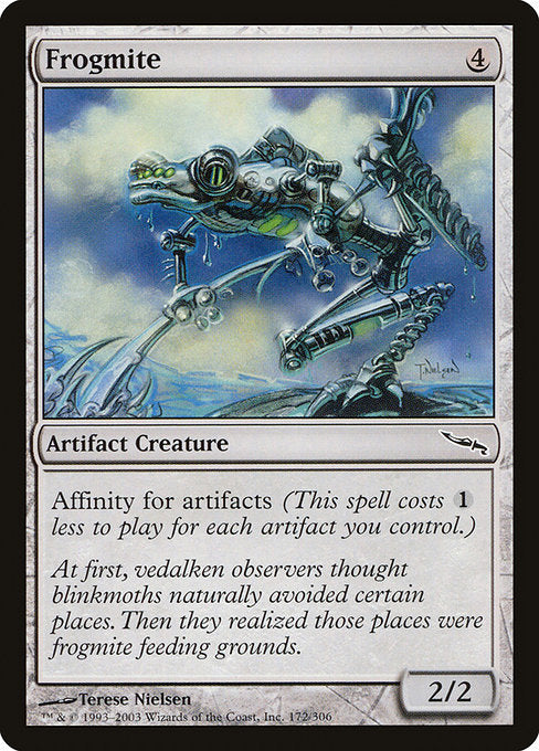 Frogmite [Mirrodin] | Galactic Gamez