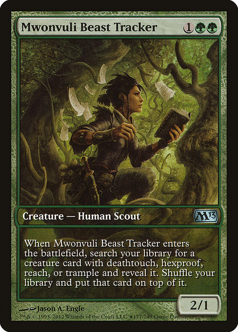 Mwonvuli Beast Tracker [Magic 2013 Promos] | Galactic Gamez