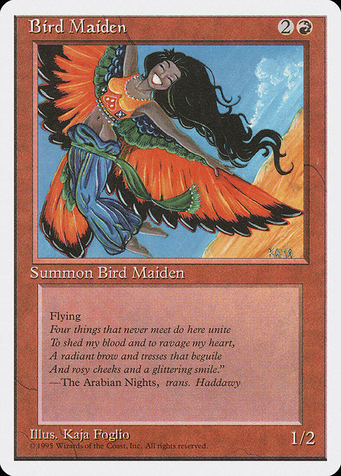 Bird Maiden [Fourth Edition] | Galactic Gamez