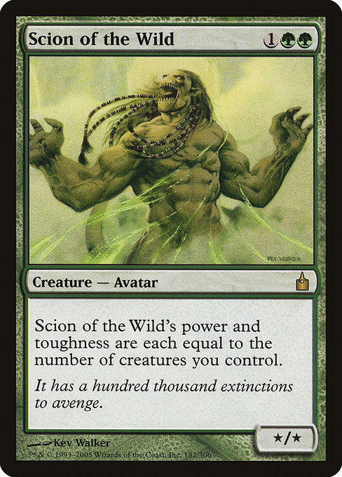 Scion of the Wild [Ravnica: City of Guilds] | Galactic Gamez