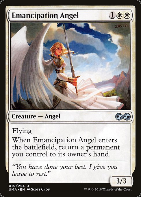 Emancipation Angel [Ultimate Masters] | Galactic Gamez