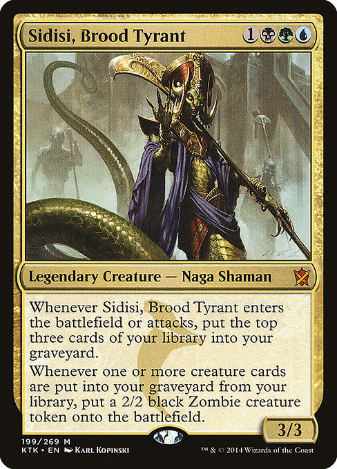 Sidisi, Brood Tyrant [Khans of Tarkir] | Galactic Gamez