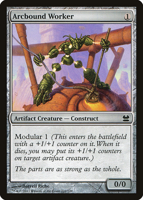 Arcbound Worker [Modern Masters] | Galactic Gamez