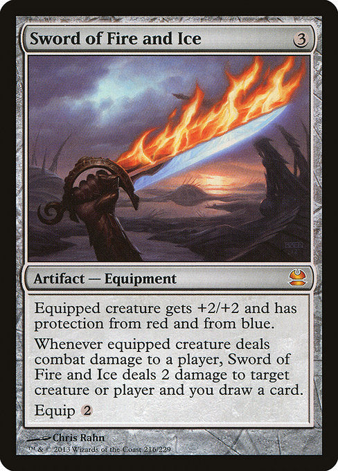 Sword of Fire and Ice [Modern Masters] | Galactic Gamez