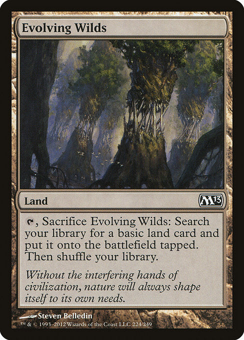 Evolving Wilds [Magic 2013] | Galactic Gamez